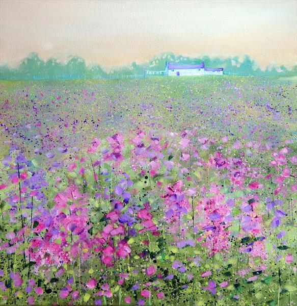 Flower Meadow by Denise Coble