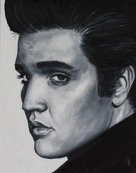 Elvis Presley by Mark Barrable