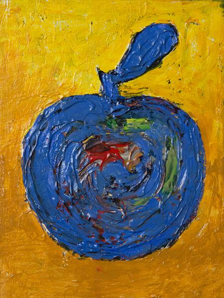 Old Battered Apple by Machale  O'Neill