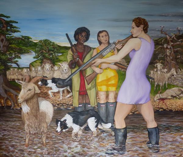Separating the sheep and the goats. by Christopher Clark