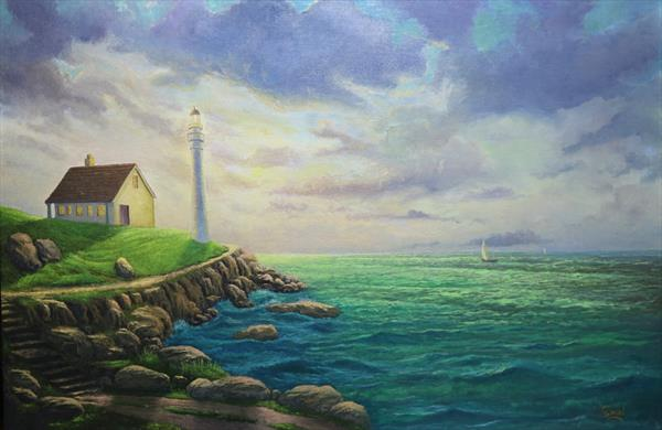 The light house by thomas samuel