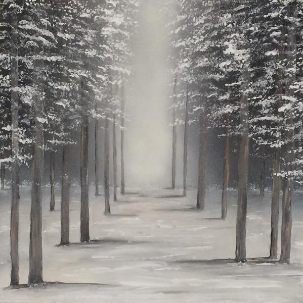 Winter Trees by Tracy Jolly
