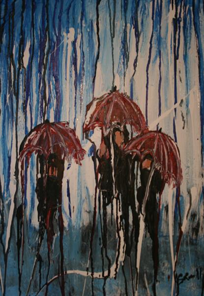 Caught in the Rain by Susanna Miller