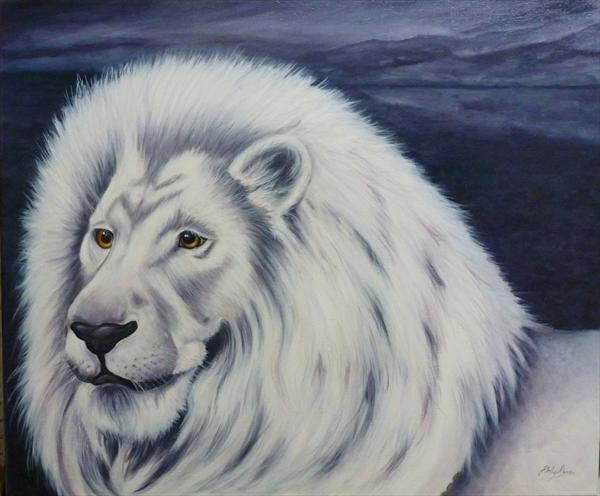 White Lion by Jane Moore