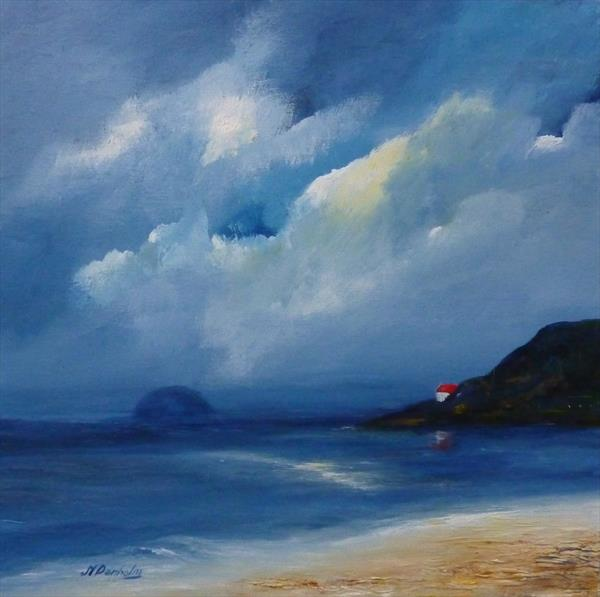 Looking To Ailsa Craig by Margaret Denholm
