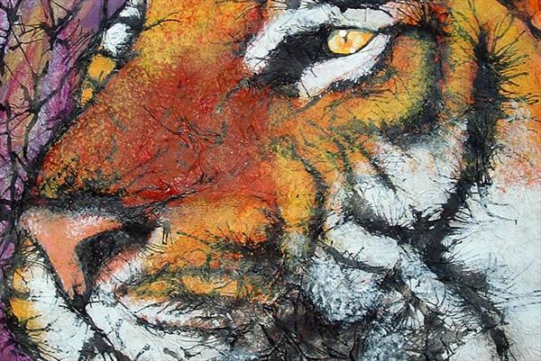 Tiger, Tiger ... by Guy Wooles