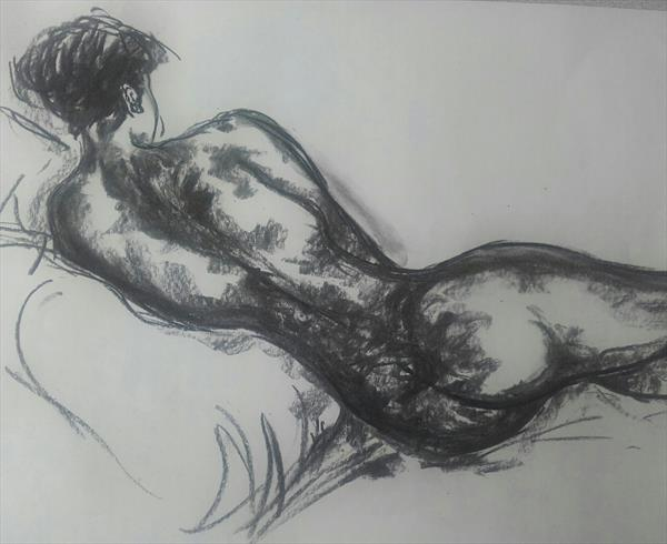 Reclining Nude by John Dallimore