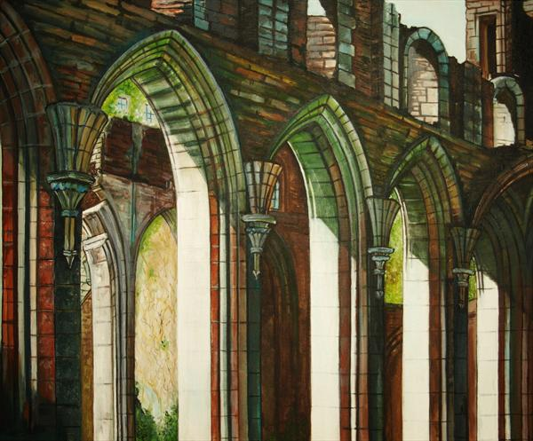 Llanthony Priory by Serena Phillips