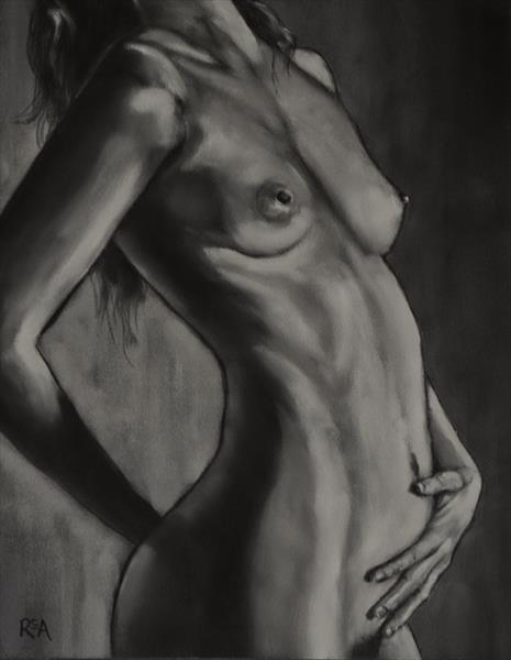 Nude Study #1 by Ruth Archer