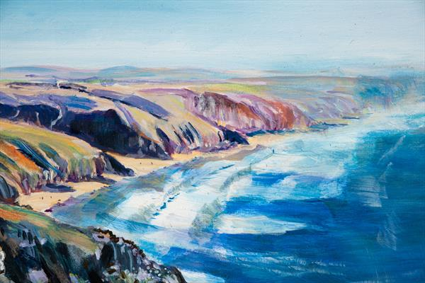 ST. AGNES HEAD by Diana Aungier - Rose