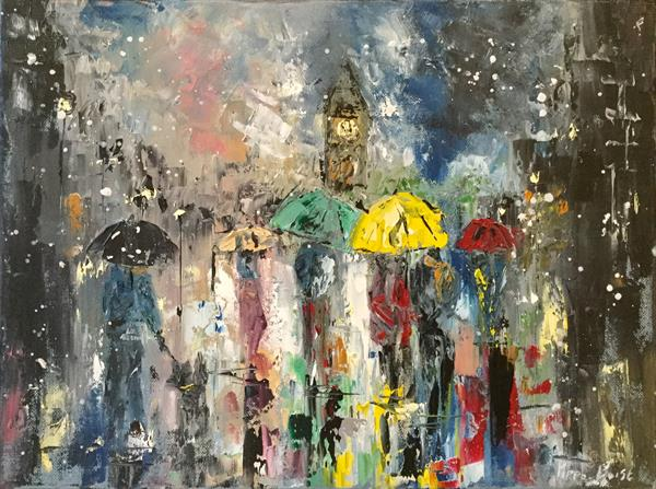 Winter in the city by Pippa Buist