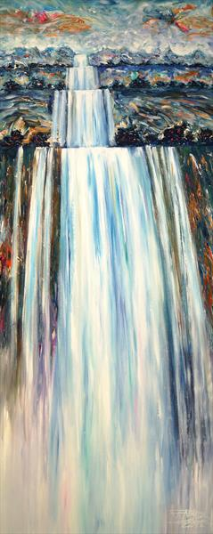Stick: Mystery Waterfall 1 RESERVED by Peter Nottrott