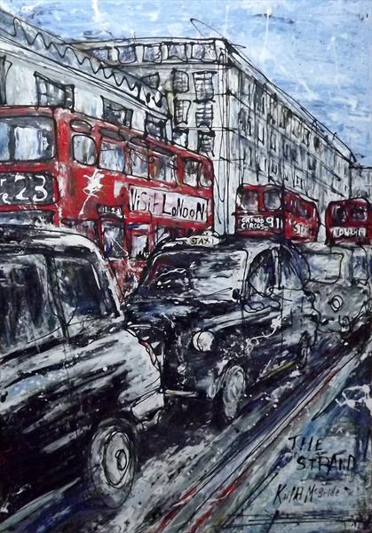 The Strand (large acrylic)