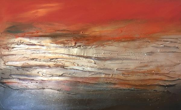 Copper Landscape  by Kerry Bowler