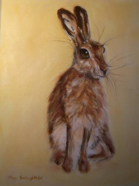 Hare 23 by Mary Schofield