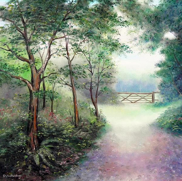 Woodland Path by Sarah Featherstone