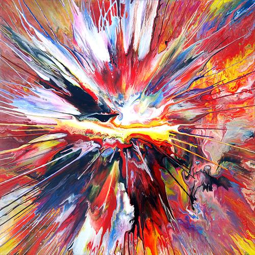 Spin Painting 23 by Mark Chadwick