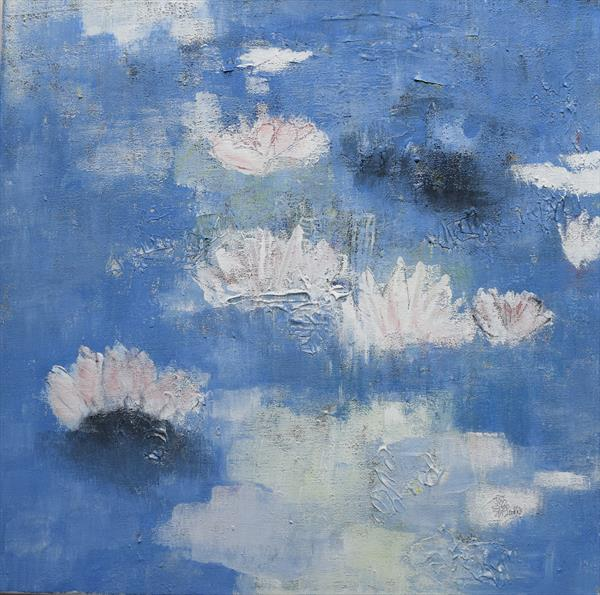 Lily Pond 1 by Jo KC Ellis