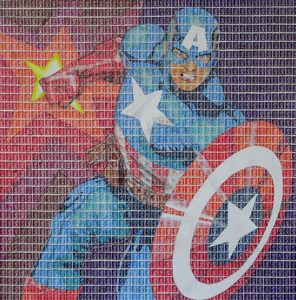 Captain America by Peter Mason