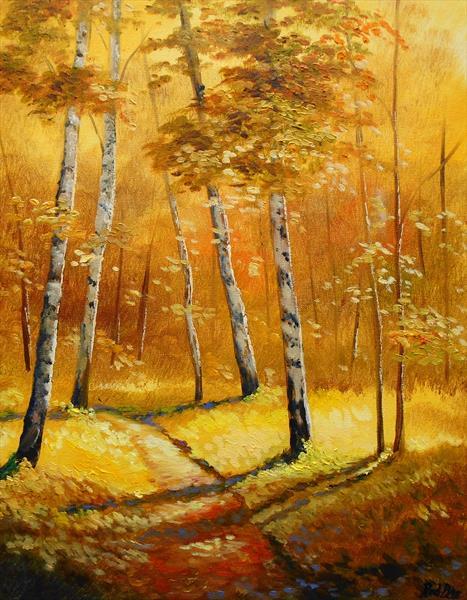 Autumn gold by Rod Bere