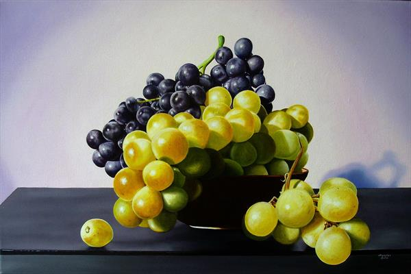 Cup of grapes by Jean-pierre Walter