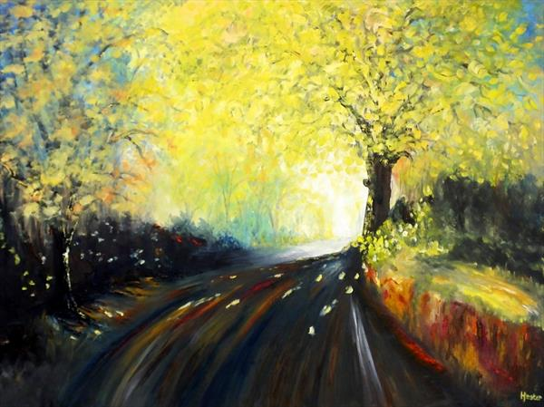Beauty Of Landscape And Light  by Hester Coetzee