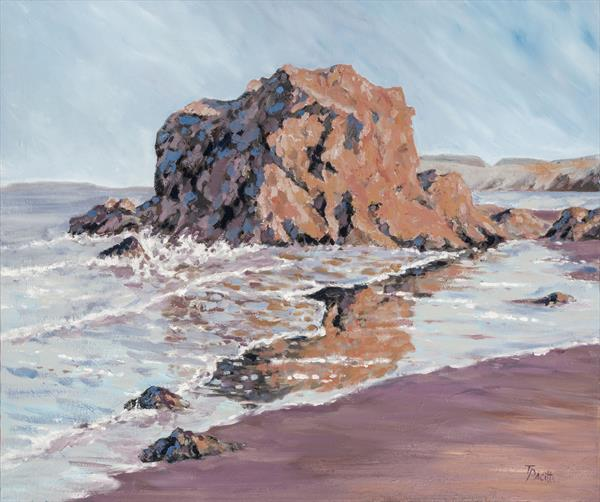 East Bay, North Berwick (Limited edition giclee) by Tracey Pacitti