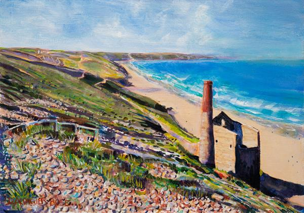 WHEAL COATES by Diana Aungier - Rose