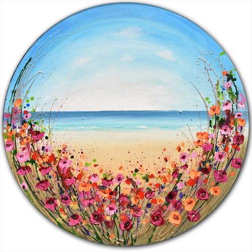 Beach Flowers by Amanda Dagg