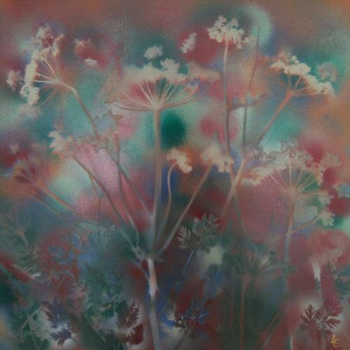 Cow Parsley  by Lizz Campbell