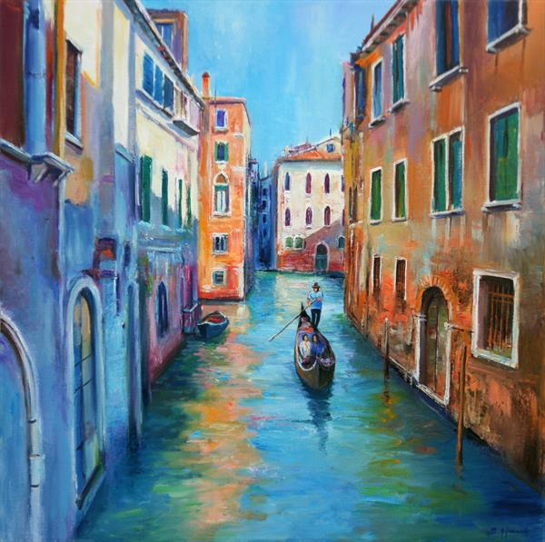 The Colors of Venice by Behshad Arjomandi