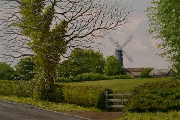 Skidby Mill, East Yorkshire. by Peter Marshall