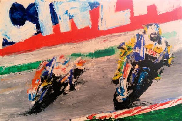Valentino Rossi 01 by Sean Wales