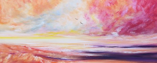 One More Day With You - Seascape by Melanie Graham
