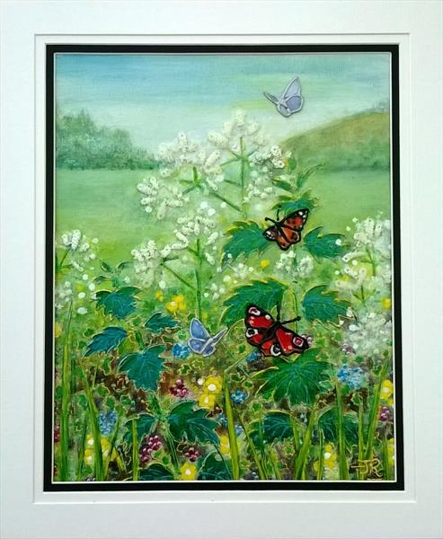 Meadowland - Queen Anne's Lace by Theresa  Robinson