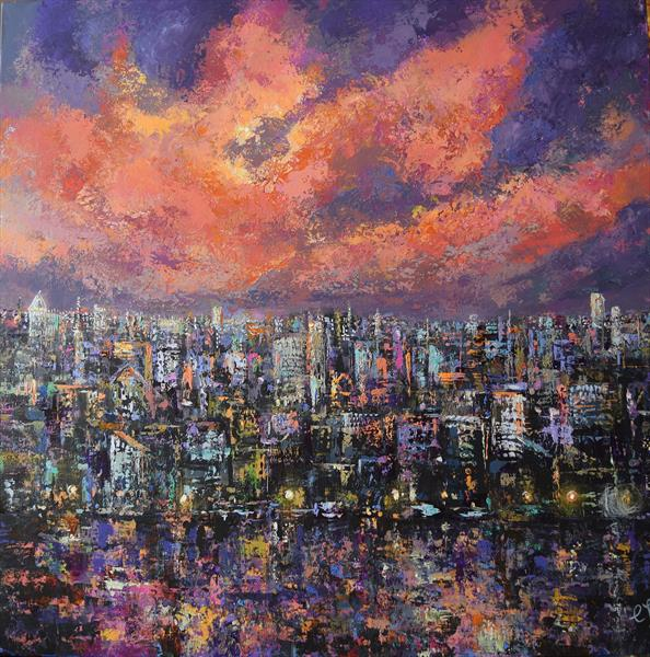 City Lights by Colette Baumback