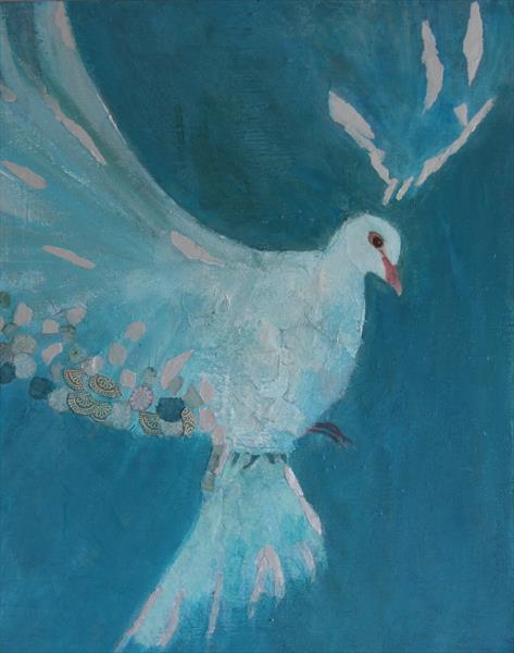 Dove of Peace by Lorraine Barker