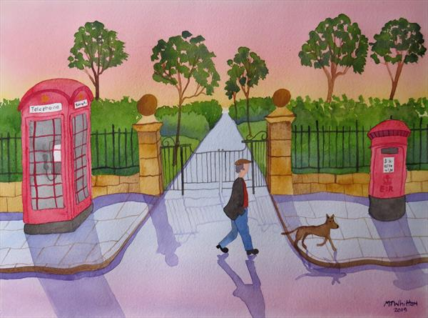 The Park Gates by Martin Whittam