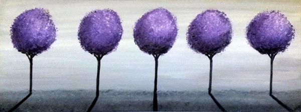 Purple Trees 3