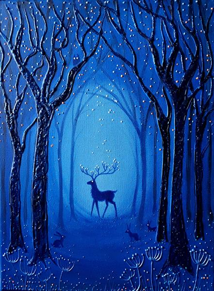 In the Midnight Forest by Angie Livingstone