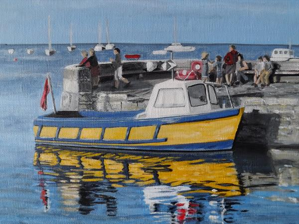 A quay moment. by Lynne Harris
