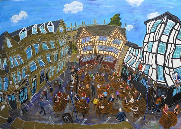 Shambles Square, Manchester, No. 4 by Michael  Gutteridge
