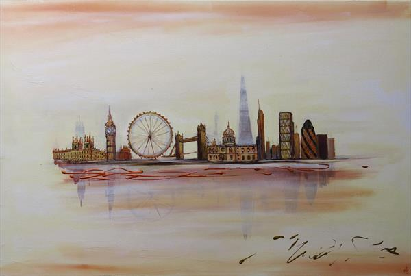 Reflections of London by Maureen Greenwood