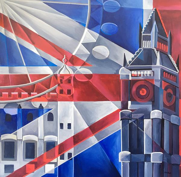 The Union Jack Duo by Tiffany Budd