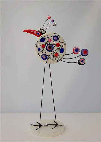 Quirky Bird 2 by Paula Horsley