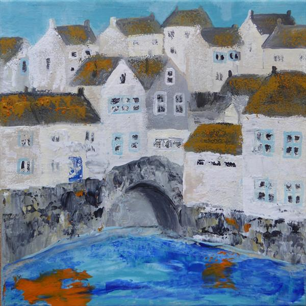 Polperro, the House on Props by Elaine Allender