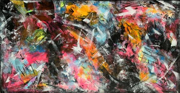 67''x 35''(170x90cm), The beauty of tomorrow 18 by Veronica Vilsan