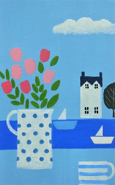 The White Boat by Jan Rippingham