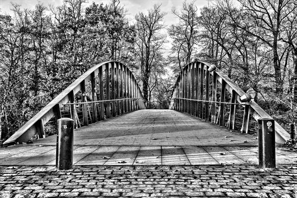 Bridge to Minnewater Lake, Bruges by Jason Oliver