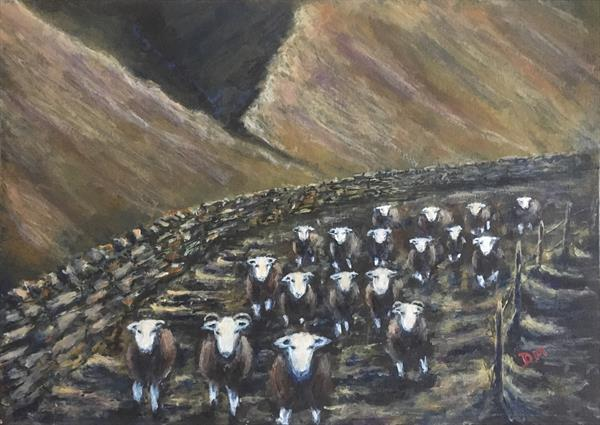 Whilst wandering in Wasdale  by Damion  Maxwell